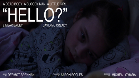 'Hello?' - Thriller - Short Film - Poster by DrawnInPenProduction