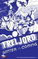 Valoran War Posters: Freljord by a-bad-idea