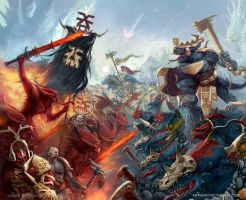 Alliance with Sigmar by AnthonyDevine