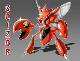 A Scizor by Serpentkingsaul2