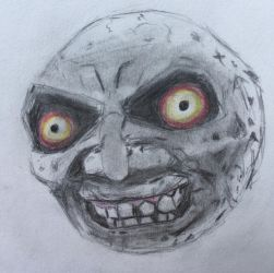 The Moon from Majora's Mask by CaptainEdwardTeague