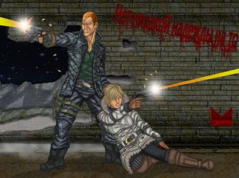 Wesker and Birkin - The Next Generation by wondermanrules