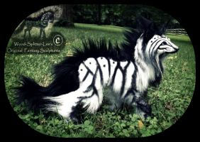 SOLD  Poseable Siberian Arctic Wolf! by Wood-Splitter-Lee