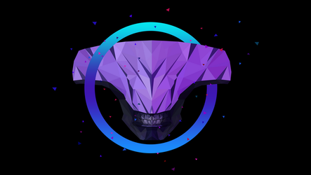 Faceless Void Dota 2 Low Poly Art by giftmones