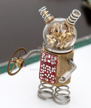 Steampunk Robot Mark II by Xerces
