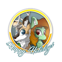 Happy Holidays! by TyandagaArt