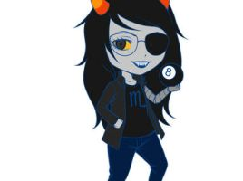 Vriska Serket God Tier - shift chibi by zero0810