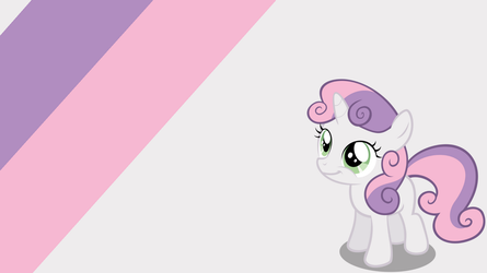 - Sweetie Belle Wallpaper - by Ponyphile