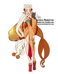 Character Design - Japan Inspired Character 06 by MeoMai