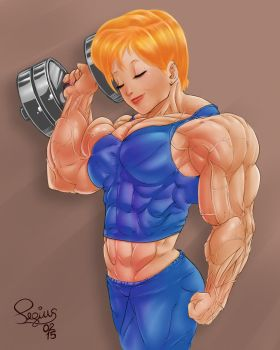 Back to workout by Pegius