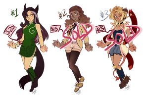 Girl Adoptables For Sale! [OPEN] by Machati