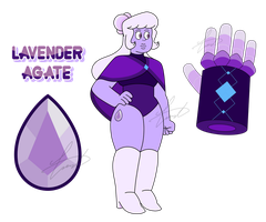 SUOC - Lavender Agate by GustavoTheHuman