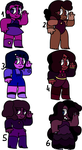 Gemstone Adopts!! - Rubies (part 2)- 25 points by Nerdt0pia