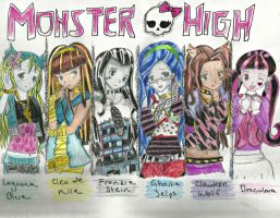 Monster High by edwardsuoh13