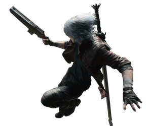 Devil May Cry 5 Dante Coyote A Render PNG by GamingDeadTv