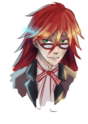 Grell Sutcliff (Black Butler) by HecticWu