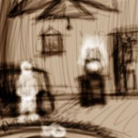 Ghosts: Living Room by psycho23