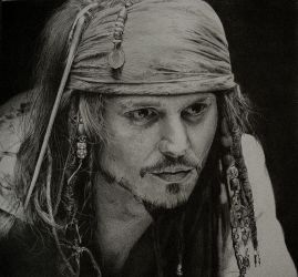 Jack Sparrow by KLSADAKO