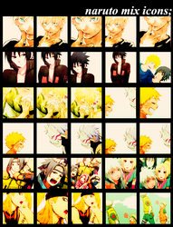 041.Naruto Icon Batch by MunRikki