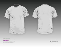 TShirt_vector_template_V2.0 by GoPurifyYourself