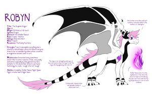 Robyn: The Graphite Dragon by RobynTheDragon