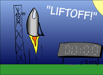 Liftoff by mtusk