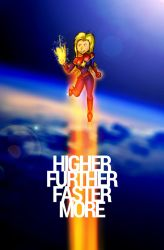 Higher. Further. Faster. More. by tekitsune