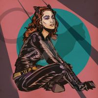 Catwoman by MY-METAL-HAND