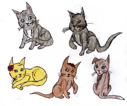 Les Miserables Cats by panthereye24