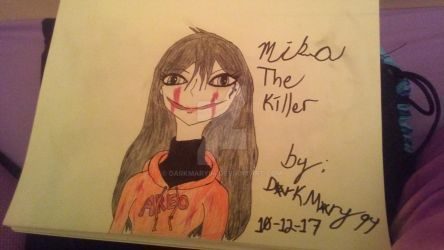 Mika The Killer by DarkMary94
