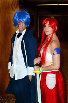 ShadoCon 2k14: Erza and Jellal by GildedMoon