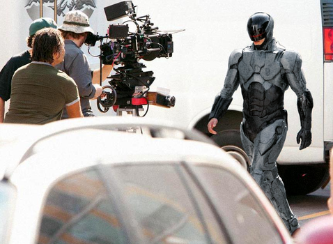 Robocop 2013 Set Photo tweak by JohnnyMuffintop