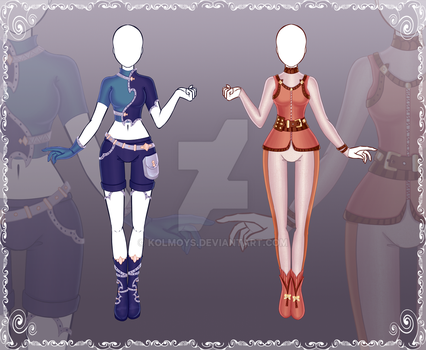[Close] Adoptable Outfit Auction 30-31 by Kolmoys