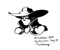 Inktober 2017 - 15 Mysterious by Timidouveg