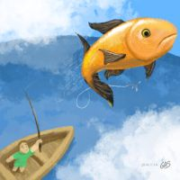 Flying Fish by psychoduck