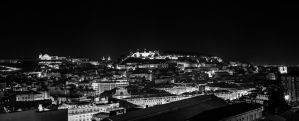 Night over Lisbon City by Roger-Wilco-66