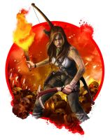 Tomb Raider by fatihaydinart