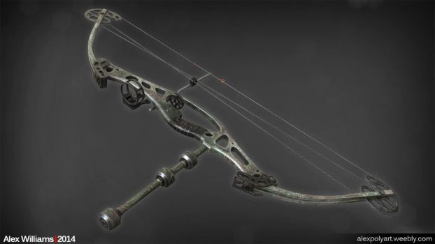 Contagion - Compound Bow by LivewireDeviant