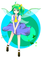 Daiyousei - Great fairy by the lake by palinus