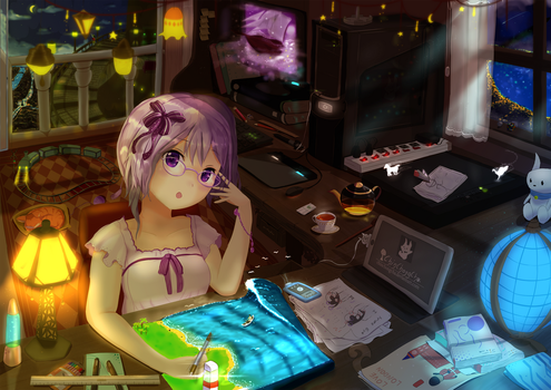 Desk of Dream by chinchongcha