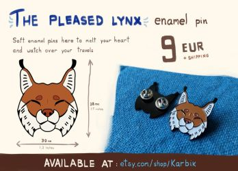LYNX PINS FOR SALE by Karbik
