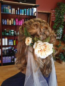 Medieval Wedding Hairstyle Trial 2 by ClassyNerd16