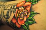 Rose and tattoos
