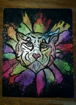 When a tiger wants to be a lion. by LucyMP