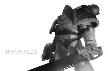 Space Marine by JiHunLee