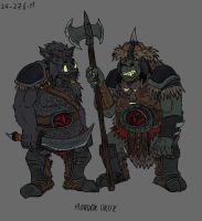 Uruks of Mordor by Mara999