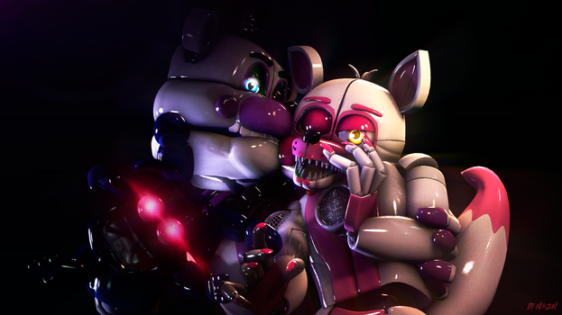 [SFM/Sister Location] Funtime Frexy. by NikzonKrauser