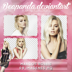 Pack Png 044 // Margot Robbie by BEAPANDA