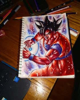 Ultra instinct kaioken by xprotector10