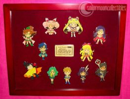 Sailor Moon Channel Pin Set by onsenmochi